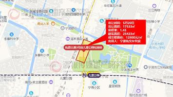 宁波轨交&华润底价摘得宁波江东地铁上盖商住地