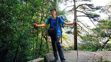 探一条线路要半个月以上 8年他探出了宁波500多条登山线