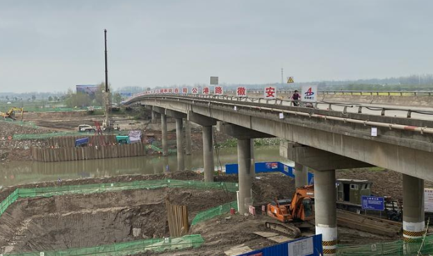 记者实地探访安徽旅游名镇:重点项目工程100%复工