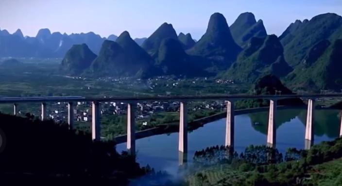 坐着高铁看中国宣传片